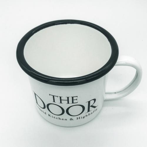 The Door - Mule Becher von oben