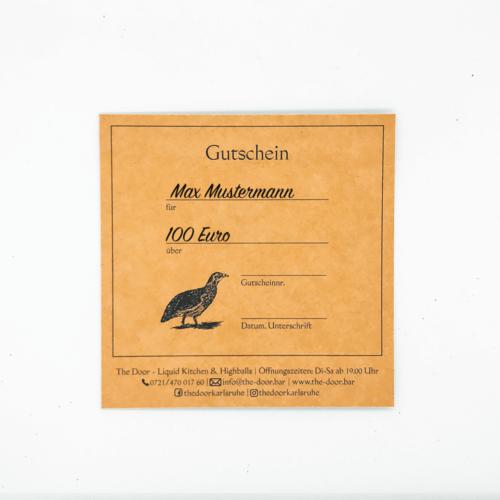 The Door - Gutschein - 100