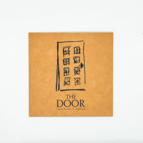 The Door - Gutschein - Vorderseite