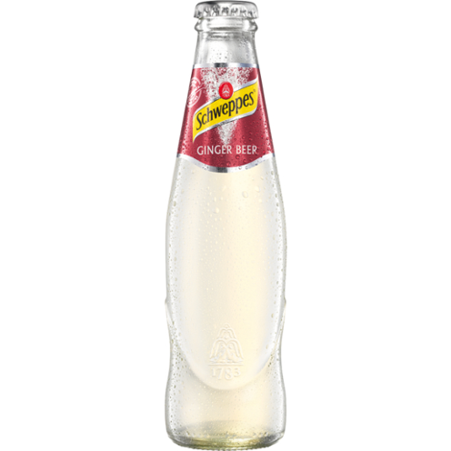 The Door - Bottled Cocktail - Schweppes Ginger Beer 0,2l