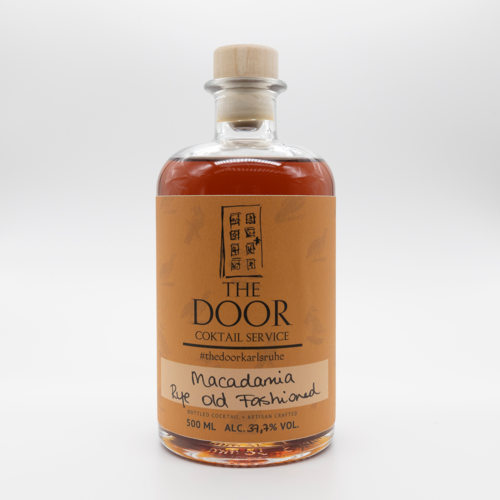 The Door - Bottled Cocktail - Macadamia Rye Old Fashioned