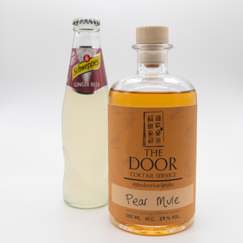 The Door - Bottled Cocktail - Pear Mule
