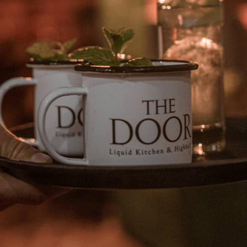 The Door - Bottled Cocktail - Strawberry Mule